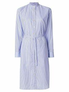 Paul Smith pinstripe shirt dress - Blue