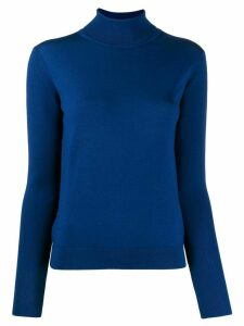 Paul Smith roll neck knit jumper - Blue