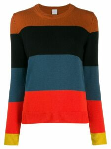 Paul Smith striped cashmere jumper - Black