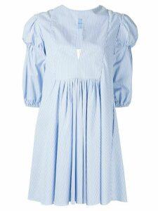 Macgraw Village striped dress - Blue