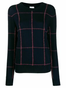 Paul Smith geometric-print jumper - Blue