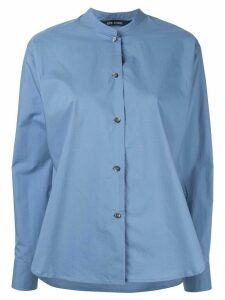 Sofie D'hoore Bosas band-collar shirt - Blue