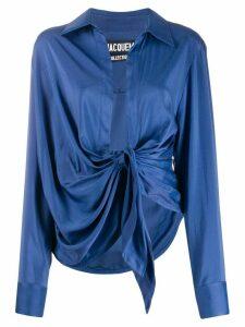 Jacquemus La Chemise Bahia shirt - Blue