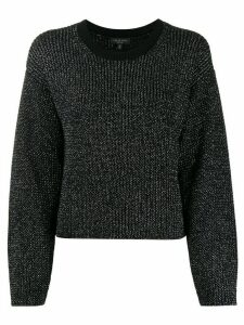 Rag & Bone interlock knit jumper - Black