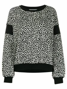 Philosophy Di Lorenzo Serafini speckled print sweatshirt - Black