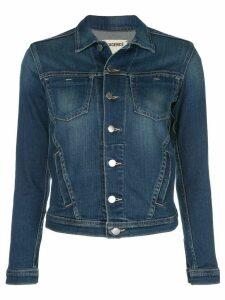 L'Agence Janelle slim denim jacket - Blue