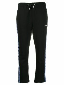 Fila logo stripe track pants - Black