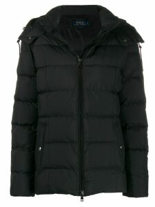 Polo Ralph Lauren hooded padded jacket - Black