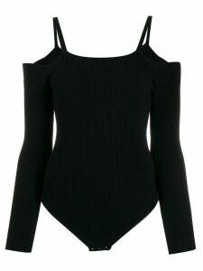 L'Autre Chose off-the-shoulder body - Black