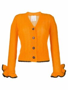 Marco De Vincenzo elongated-sleeves cardigan - ORANGE