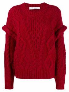IRO Homies loose-fit jumper - Red