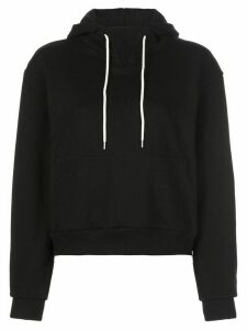 John Elliott drawstring long-sleeve hoodie - Black