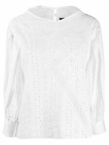 Isabel Marant Broderie Anglaise blouse - White