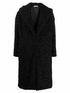 Alice+Olivia Ora oversized coat - Black