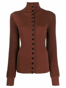 Lemaire button-up jumper - Brown