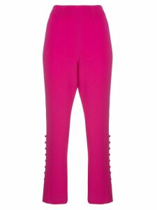 Cinq A Sept cropped Lida trousers - PINK