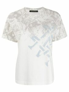 Mr & Mrs Italy abstract-print T-shirt - White