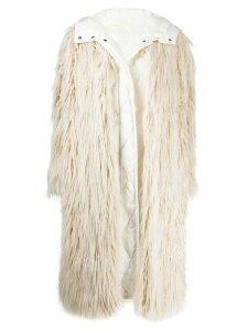 Moncler padded down jacket - White