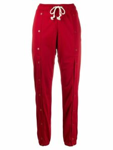 Champion push button track trousers - Red
