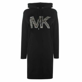MICHAEL Michael Kors Stud Hoodie Dress