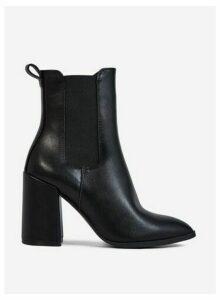 Womens Black 'Argyll' Boots, Black