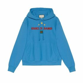 Gucci Band print hooded sweatshirt