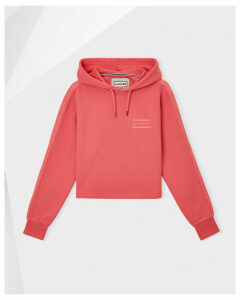 Women's Original Campus Cropped Logo Hoodie