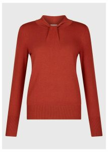 Kelsey Sweater Rust Orange