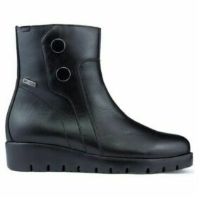 CallagHan  HAMAN WATER STOP ankle boots  women's Mid Boots in Black