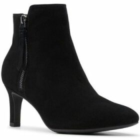 Clarks  Calla Blossom  women's Low Ankle Boots in Black
