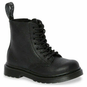 Dr Martens  1460 Pascal Mono T Black Virginia  women's High Boots in Black
