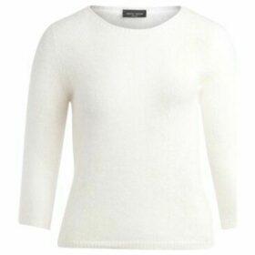 Roberto Collina  Maglione a girocollo bianco  women's Sweater in White