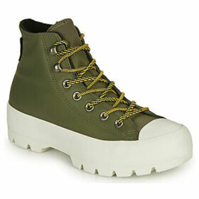 Converse  CHUCK TAYLOR ALL STAR LUGGED WINTER BOOT HI  women's Shoes (High-top Trainers) in Green
