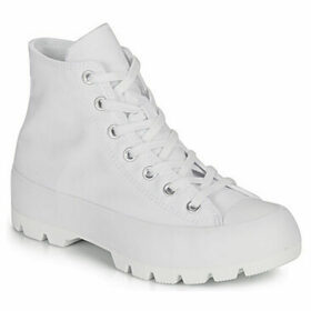 Converse  Chuck Taylor All Star Lugged Basic Canvas  women's Shoes (High-top Trainers) in White
