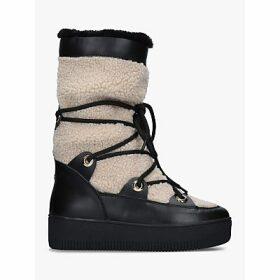 Carvela Tekky Snow Boots, Black