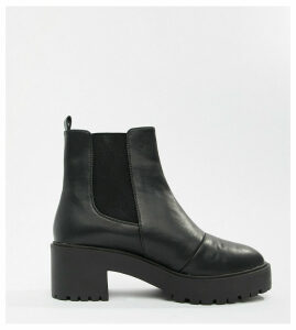 ASOS DESIGN Revival chunky Chelsea boots-Black