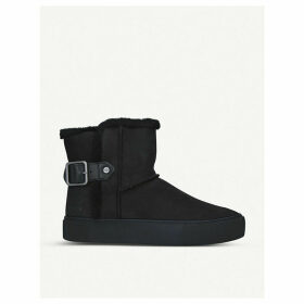Aika suede boot trainers