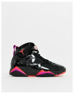 Nike Jordan 7 Retro Black And Red Trainers