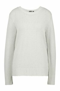 Womens Tall Soft Knit Jumper - Grey - M, Grey