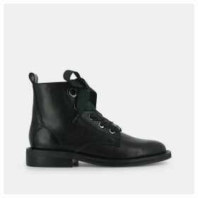 Grime Leather Boots