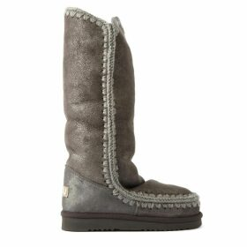 Mou Eskimo 40 Grey Leather Boot