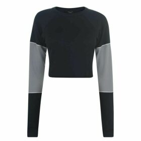 Twenty Mesh Long Sleeve Top