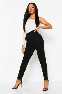Womens Stretch Tapered Trouser - black - 14, Black