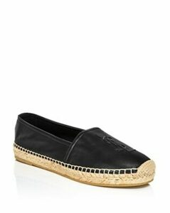 Saint Laurent Women's Leather Espadrille Flats