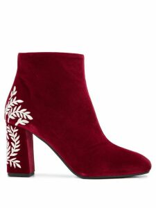 Pollini Bargogna ankle boots - Red