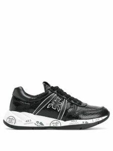 White Premiata Layla low-top sneakers - Black