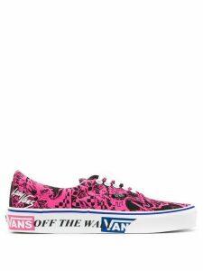 Vans Rose print sneakers - PINK