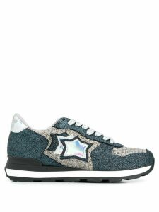 Atlantic Stars Vega glitter panelled sneakers - Blue