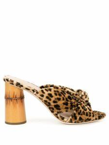 Loeffler Randall coco high heels - Brown