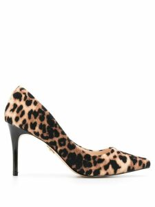 Buffalo Fanny leopard-print pumps - Brown